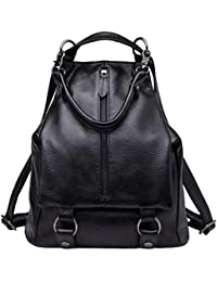 88641ee06a6c BOYATU Women Genuine Leather Backpack Ladies Rucksack Waterproof Travel  Shoulder Bag