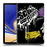 Head Case Designs Offizielle 5 Seconds of Summer Mohawk Purpur Punk Ruckseite Hülle für Samsung Galaxy Tab S4 10.5 (2018)