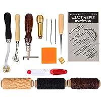 15 Pièces Outils de Couture Thread Awl Kits D'artisanat en Cuir