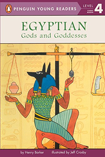 Egyptian Gods and Goddesses (All Aboard Reading (Pb))