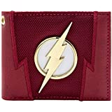 DC Flash Blitz-Badge Suit Up Rot Portemonnaie Geldbörse