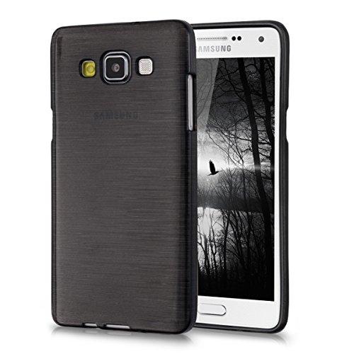 kwmobile Samsung Galaxy A5 (2015) Hülle - Handyhülle für Samsung Galaxy A5 (2015) - Handy Case in Anthrazit Transparent