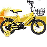 Bicicletas HAIZHEN  Cochecito niños, infantiles unisex con ruedas de entrenamiento, varias características de moda, 12, 14, 16 y 18 pulgadas, regalos para niños y niñas de moda Para recién nacido