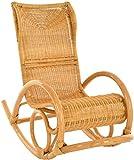 Relaxsessel Schaukelstuhl Luxor aus Rattan modern*