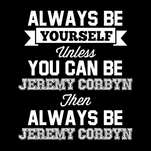 Always Be Yourself Unless You Can Be Jeremy Corbyn Women's Vest Black