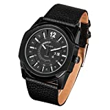 Beautiful Watches , CAGARNY 6838(1) Fashionable Korean Style Quartz Wrist Watch with Leather Band for Men