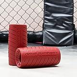 Grip Rippers Fat Bar Hantelgriffe, zum Training, für Funktionelle Fitness, Klettern und MMA (1Paar)