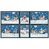 Quilting Treasures QT78 Tafel für Weihnachten,