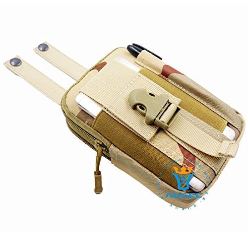 Multifunzione sopravvivenza Gear Pouch Tattico Molle Pouch fondina Esercito, Campeggio portatile Pouch Bag Borse Marsupio strumento Pouch Custodia da viaggio Custodia, OR DCU
