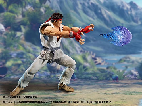 Street Fighter- Ryu Figura 15 Cm V SH Figuarts, Multicolor (BDISF051930) 5