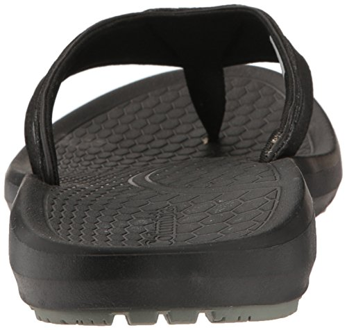 Columbia Mens Techsun Flip Sandal Black, Charcoal