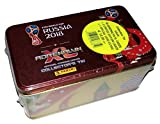 World Cup Russia 2018 Adrenalyn Cards Tin Box Limited Cards Panini