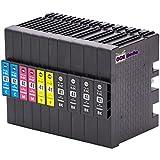 10er Set - Druckerpatronen kompatibel zu RICOH GC41   4x schwarz & je 2x cyan magenta gelb   geeignet für Ricoh Aficio SG-2100N / SG-3100 Series / SG-3100SNW / SG-3110N / SG-3110DN / SG-3110DNW / SG-3110SFNW / SG-3120BSFNW / SG-3120BSF / SG7100DN
