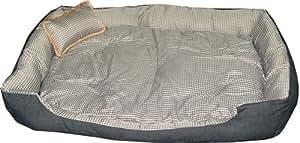Hundebett Hundeliege Hunde Bett Schlafbett 100 x 80 x 18 cm