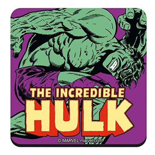 Original Marvel Comics The Incredible Hulk Single Untersetzer Untersetzer Untersetzer Vintage Retro