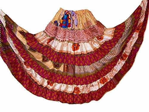 Dancers World Ltd (UK Seller) - Jupe - Femme multicolore Multi shades more on the bright colour side 647