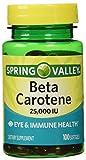 Spring Valley Beta Carotene 25000IU 100c...