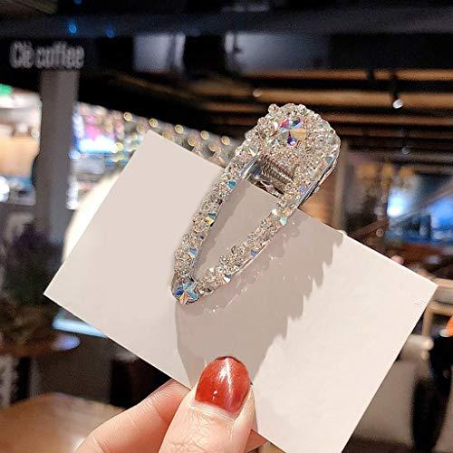 Gaddrt Haarnadel Frauen Perle Diamant Haarspange Bobby Pin Stirnband Haarnadel Haarspange Kamm Zubehör Haarklammer (J)