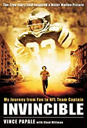 Invincible: My Journey from Fan to NFL Team Captain (English Edition)