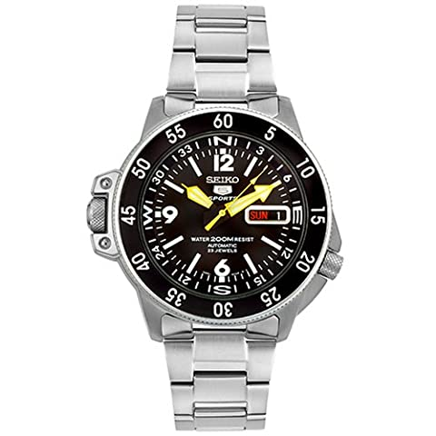 Seiko Men's SKZ211K1 Five Sports Stainless Steel Automatic