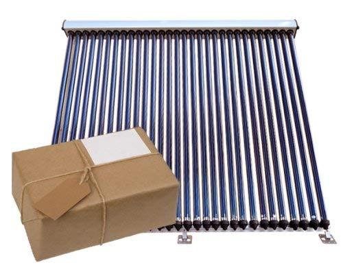 Solway® VRK 30, Solar Komplettpaket, 1-8 Vakuumröhrenkollektoren mit Zubehör 31,99 m², 7 Kollektoren a 30 Röhren