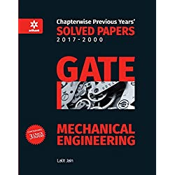 Mechanical Engineering Solved Papers GATE 2018