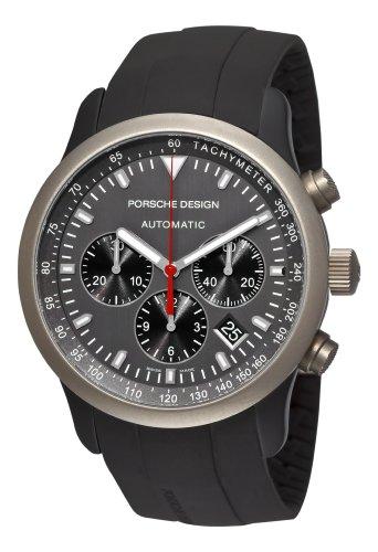 Porsche Design P '6612grigio titanio e alluminio quadrante orologio da uomo 6612.14.50.1139cruscotto