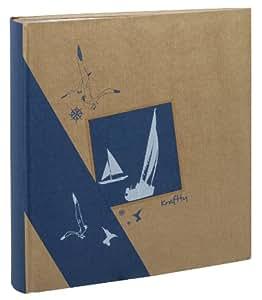 Erica - Album kraftty con tasche, per 500 foto, 11,5 x 15, colore: blu