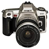 Minolta Dynax 505si Super Spiegelreflexkamera Silber inkl. AF 3,5-5,6/28-80mm Objektiv Silber -
