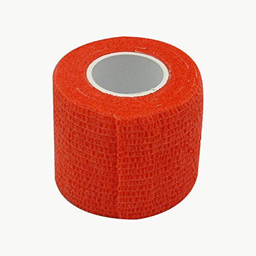 Jaybird & Mais 2153 Cobird Co-Stretch-Klebeband: 2 in. x 15 ft. (rot)