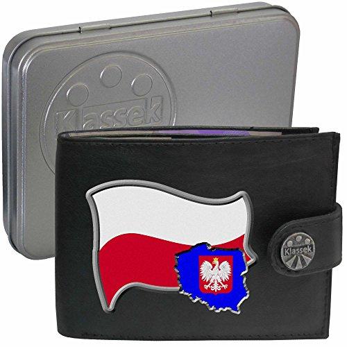 pologne-drapeau-carte-pologne-klassek-portefeuille-homme-porte-monnaie-polonais-armoiries-cuir-noir-