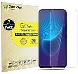 CooHaiSee Vivo NEX S Pellicola Protettiva, [2 Pack] [0,3mm, 2,5D] [Senza bolle] [Durezza 9H] [Facilità di installazione] [HD Clear] Protezione dello schermo in vetro temprato per Vivo NEX S