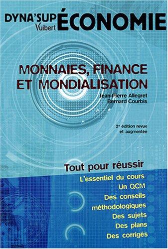 Monnaies, finance et mondialisation