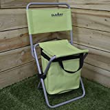Summit Folding Seat Stool Cool Bag Fishing Festivals Picnic BBQ Outdoor Camping