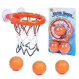 SIMUER Cerceaux de Basket-Ball de tir Jeu Jouets de Bain Mini kit Panier de Basket et...
