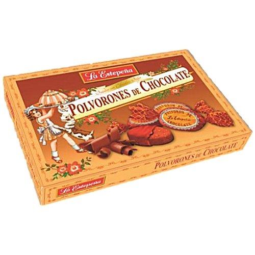Polvoron de Chocolate - original spanisches Schokoladen-Schmalzgebäck Spanische Schokolade