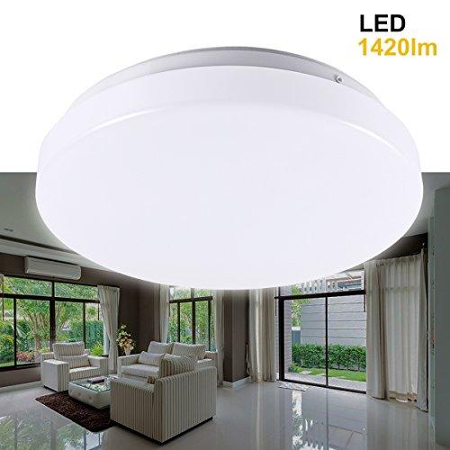 greenclick-20w-ip44-15-inch-450lm-round-led-flush-mount-ceiling-light-daylight-white-5000k