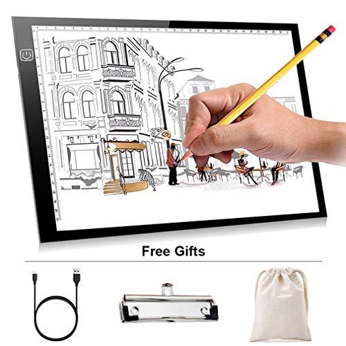 A4 Leuchttisch Zeichnung Professional Lightbox mit drei einstellbare -