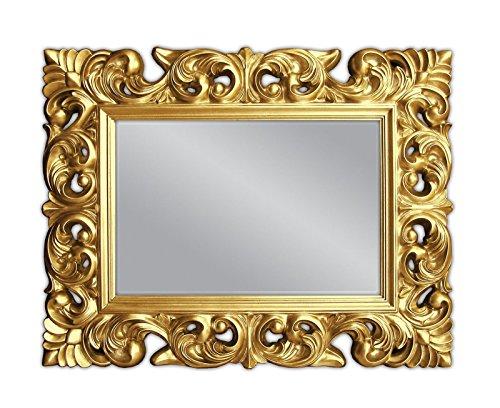 Lnxp XXL Wandspiegel Antik Rokoko 120 x 90 cm Barock in Gold Florenza UVP 899€ Spiegel Woe