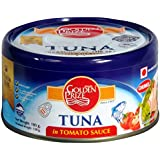 Golden Prize Canned Tuna Chunks in Tomato Sauce, 185g