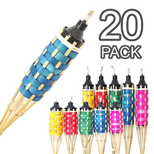 4-12m-natural-handmade-bamboo-garden-torches-reusable-oil-lantern-refillable-flame-oil-proof-caniste