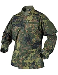 Helikon Hombres CPU Camiseta Polialgodón Ripstop Flecktarn tamaño M