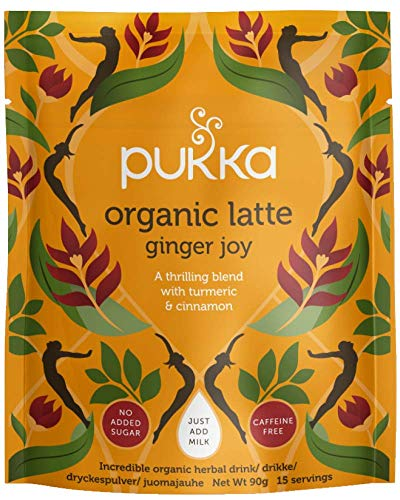 Pukka Digestif range tea bundle (soil association) (infusions) (4 packs of 90g) (360g) (a spicy tea with aromas of cinnamon, ginger, turmeric)
