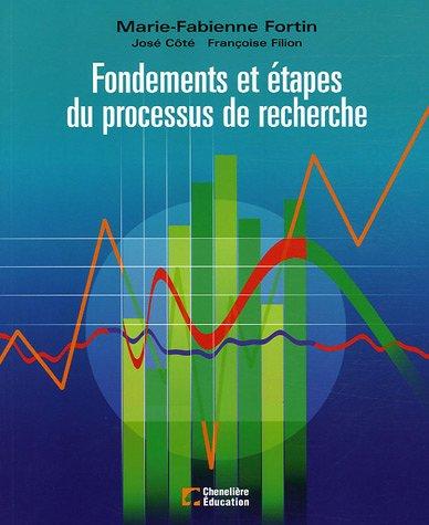 Fondements et étapes du processus de recherche par Marie-Fabienne Fortin