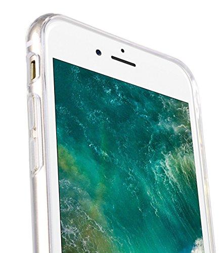 Apple Iphone 7 Melkco Elite-Serie Premium Leder-Snap zurück Tasche Tasche mit Premium-Leder Handgefertigte gute Schutz, Premium Feel-Tan Transparent 2