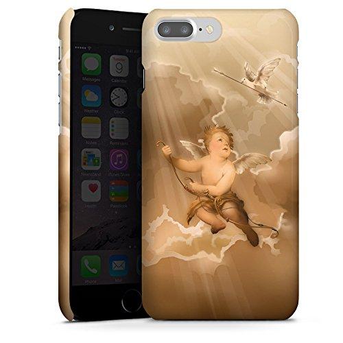 Apple iPhone X Silikon Hülle Case Schutzhülle Liebe Engel Amor Premium Case glänzend