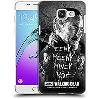 Officiel AMC The Walking Dead Eeny Miney BW Negan Étui Coque D'Arrière Rigide Pour Samsung Galaxy A5 (2016)