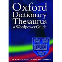 Oxford Dictionary, Thesaurus and Wordpower Guide (Diccionarios)