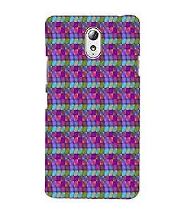 Print Masti Designer Back Case Cover for Lenovo Vibe P1M :: Vibe P1m (Square Mandala Wallpaper)