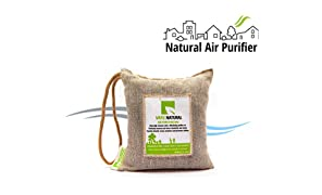 Breathefresh Vayu Natural Air Purifying Bag, 100% Activated Charcoal. Odour, Allergens And Pollutants Remover For Cars, Washrooms, Closets - 250 Grams